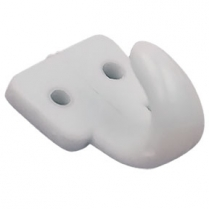 2 Hole Lash Hook - White