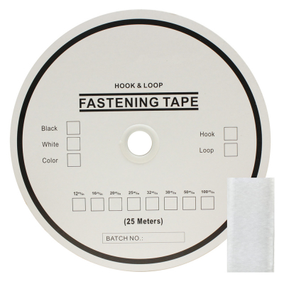 """VELSE9015 1"""" (25mm) Loop - White"""