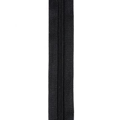 """ZIPCC9885 #8 Coil Chain Black (5/8"""")"""