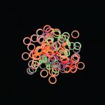 1/8 Light Rainbow Latex Elastics (2.5 oz) (50/PK)