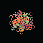 3/8 Light Rainbow Latex Elastics (2.5 oz) (50/PK)