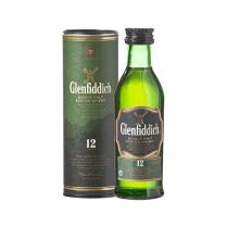 Glenfiddich 12 YO Single Malt 50ml