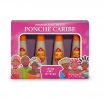 Ponche Caribe Mini Gift Pack 4 x 50ml