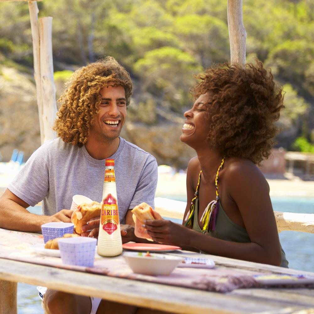 Ponche Caribe Island Cream Liqueur 750ml