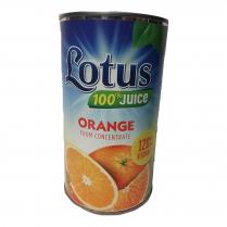LOTUS Orange Juice 42oz. Cans