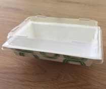 PET Clear Lid for EP03 Paper Sushi Tray 400/cs