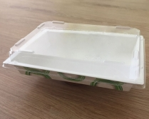 PET Clear Lid for EP05 Paper Sushi Tray 400/cs