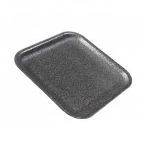 #1S Black Foam Tray (87801) 1000/cs