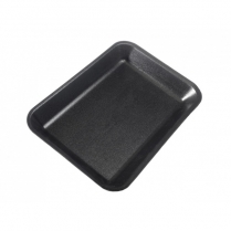 #2S Black Foam Tray (87803) 500/cs