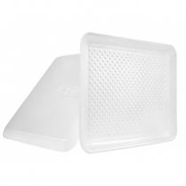 White 12S Foam Tray (88112) 250/cs