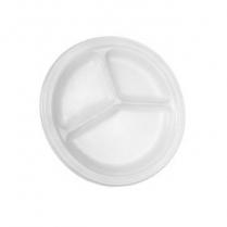 9' CKF Foam Plate 3-C (88623) 500/cs