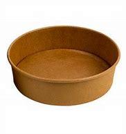 40oz Kraft Paper Shallow  bowl (Fit OP-C188H Lid) 300/cs