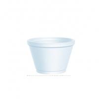 Foam container white 10z. 1000/case