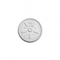 Flat Vented Lid Dart: 8SJ12/6SJ12/10J12/12J121000/cs