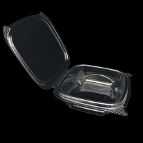 8oz Clear Hinged Container (Same as AD08) 200/cs(699092)