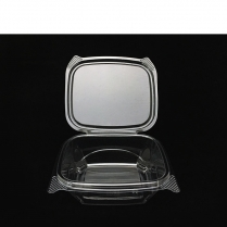 12oz Clear Hinged Container (Same as AD12) 200/cs