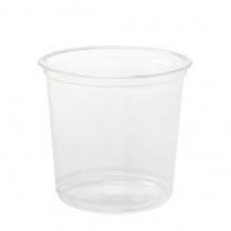PP Deli 24oz Container Semi Clear (Fit F117 Lid)  500/cs