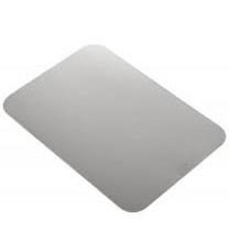 5x8' Foil/Paper Lid White 500/cs