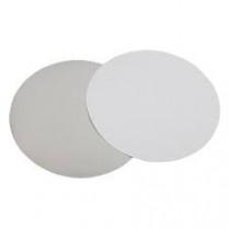 9' Foil/Paper Lid Round White 500/cs