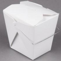 Foldpak 32oz White Paper with Handle 500/cs