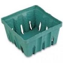 """1-1/2LB 6x8x3"""" Green Produce Pak 200/cs"""