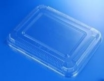 Lid for K028 /K168 Bento Box OPS Clear Lid 500/cs