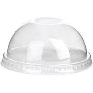 Dome Lid 98mm for DY12-DY24 PET Cup 1000/cs