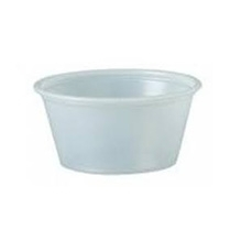 2oz Solo Clear Portion Cup 2500/cs (10X250pcs)