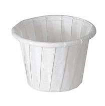 0.75 oz Solo Paper Portion Cup   5000/cs (20 X 250 pcs)