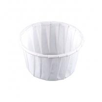 1.25 oz Solo Paper Portion Cup   5000/cs (20 X 250 pcs)