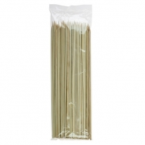 """6"""" Bamboo Skewer 3mm 100/bag (100bg/cs)"""