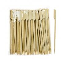"""6"""" Bamboo Paddle Skewers 100/bg 10bg/cs (special item)"""