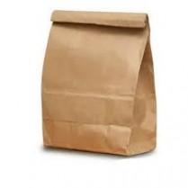 "Kraft Bag 10lb Regular 6.25x4x13.375"" 500/pk"