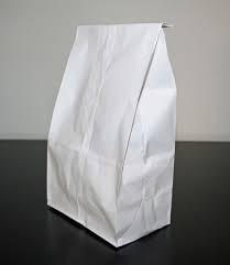 "White Bag 2lb Regular 4.125x2.5x8.125"" 500/pk"