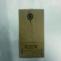 "Kraft Bag (INPGKL) 2lb Regular 4.25x2.5x8.25"" 1000/pk"
