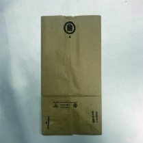 "kraft Bag (INPGKL) 4lb Regular 5x3.25x9.75"" 500/pk"