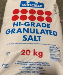 Salt Fine 20kg/Bag  (YIM)