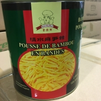 Talent Chef Brand Canned Bamboo Shoot Strip 6x2950g/cs