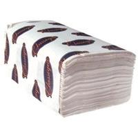 White Singlefold Towel 4000/cs (PASFW)