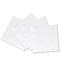1Ply 1/4 Fold Cocktail Napkin White 4000/cs