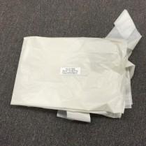 Apron Poly Hy-Five White Disposable 28''x46''100pcs/bx