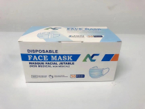 Ear Loop Disposable Protective Face Mask 3 ply  50/box