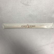 """8"""" paper wrapped chopstick for chef tony burnaby"""