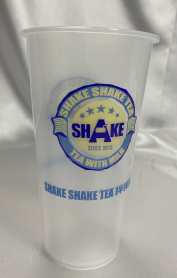 Shake Shake 750ml PP Printed Hard Cup 500/cs