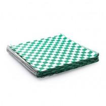 "Checker Paper Green 12""x12"" (018190) 2000/cs (799974)"