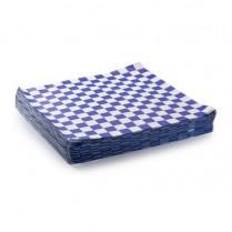 "018221 Checker Liner Blue 12""x12"" (571272) 2000/cs"