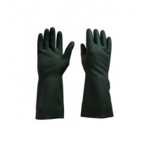 Rubber Glove Black10 Extra Large 12/pk