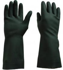 33017 Glove Black Rubber 8 Medium 12/pk