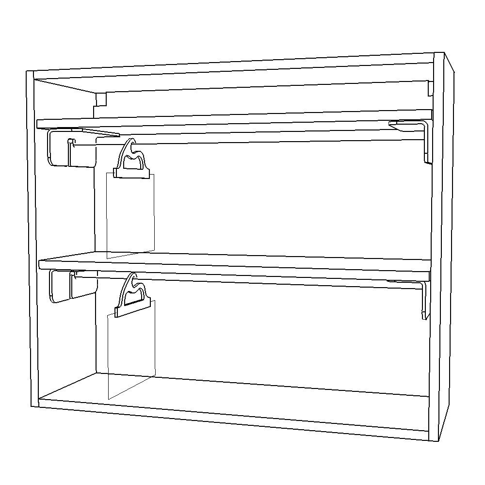 Delivery Bag In Cabinet Retrofit Kit