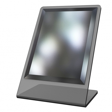 countertop mirror, optical mirror, mirror, acrylic mirror, dispensing table mirror